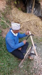 Baba @ Amrit Kunja Organic Permaculture Farm